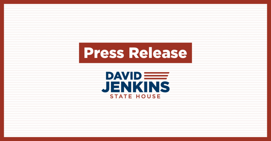 David Jenkins Announces Campaign for GA State House District 132